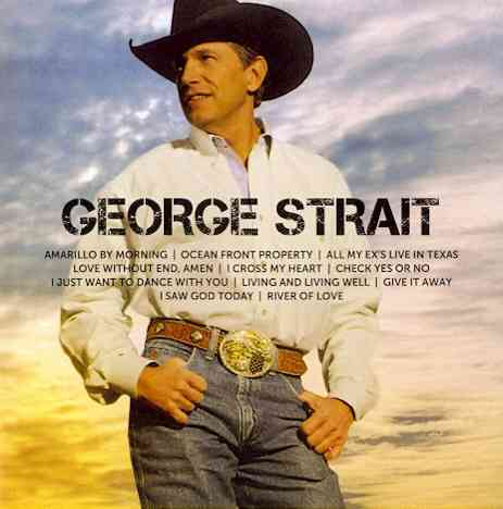 ICON BY STRAIT,GEORGE (CD)